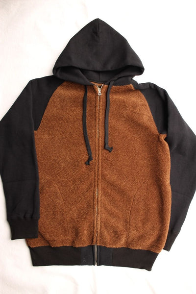 COLIMBO / TARRY TOWN GRIZZLY PARKA (ZT-0420,BROWN × BLACK)