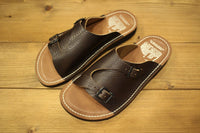 COLIMBO / PARK LODGE CAMP SITE LEATHER SANDALS (ZU-0700,BROWN)