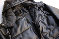 Rainbow Country / ALL LEATHER PRIMALOFT HOODED JACKET (RCL-10060,BLACK) / 2018 model