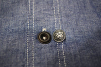 BO'S GLAD RAGS / 27 CLUB BUTTON <2BUTTONS IN-A-PACK> (SILVER)