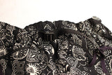"FREEWHEELERS / ""Whirlpool"" OUTDOOR SHORTS (#1922016,ANCIENT MONSTERS BANDANA PATTERN BLACK)"