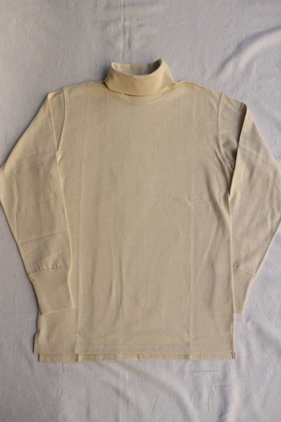 FREEWHEELERS / TURTLENECK LONG SLEEVE SHIRT (#1935002,STRAW CREAM)