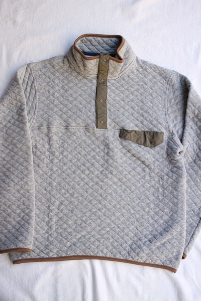 COLIMBO / GREAT PLAINS QUILTED TEE (ZT-0423,GRAY)