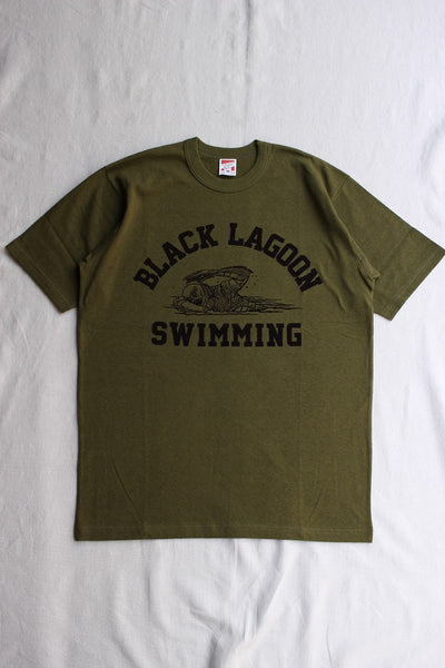 "FREEWHEELERS / ""BLACK LAGOON SWIMMING CLUB"" (#2025004,OLIVE)"