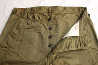 FREEWHEELERS / DECK WORKER TROUSERS (#2022009,OLIVE)