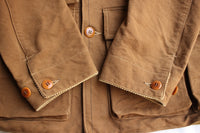FREEWHEELERS / FOREMAN COAT (#1621011,YARN-DYED TOBACCO BROWN)