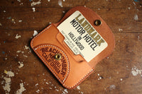 "BARNSTORMERS / Late 1950s Gold Leaf Card Case ""Nothing To Lose"" (A16-02,NATURAL)"