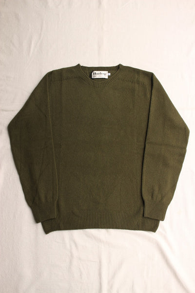 HARLEY OF SCOTLAND / CREW NECK SWEATER (LICHENE)