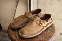 "TOKYO SANDAL ""McFly × THE BOOTS SHOP"" / HEEL HOLD SLIP-ON (TS-C01,KUDU NATURAL SUEDE) / 2020 model"
