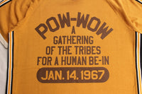 "BO'S GLAD RAGS / ""A Gathering of the Tribes for a Human Be-In"" Golden Gate Park, San Francisco,Calif., 1967 (CR20-02,DEAD YELLOW)"