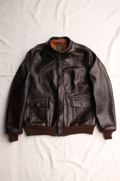 Rainbow Country / JACKET FLYING SUMMER TYPE A-2,CONTRACT NO.W535AC-23380 (RCL-10072,DARK SEAL BROWN) / 2020 model