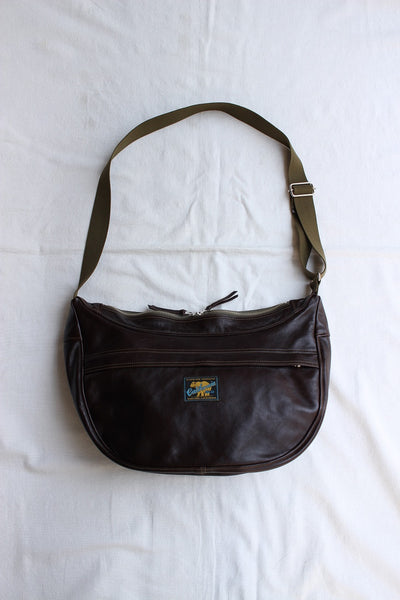 Rainbow Country / LEATHER SHOULDER BAG (RCL-60016,SEAL BROWN)