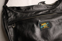 Rainbow Country / LEATHER SHOULDER BAG (RCL-60016,BLACK)