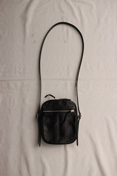 Rainbow Country / Leather Shoulder Bag (RCL-60024,BLACK)