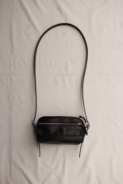 Rainbow Country / Leather Shoulder Pouch (RCL-60025,BLACK)