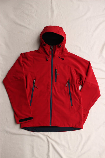 COLIMBO / Mt.MERCY SOFT SHELL PARKA #4 (ZQ-0125,RED)