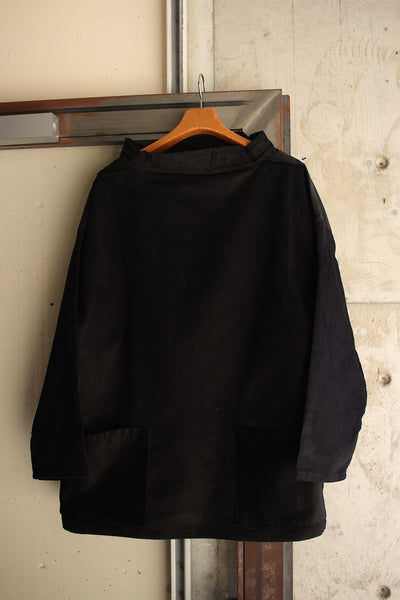 NEWLYN SMOCKS / CORDUROY SMOCK (BLACK)