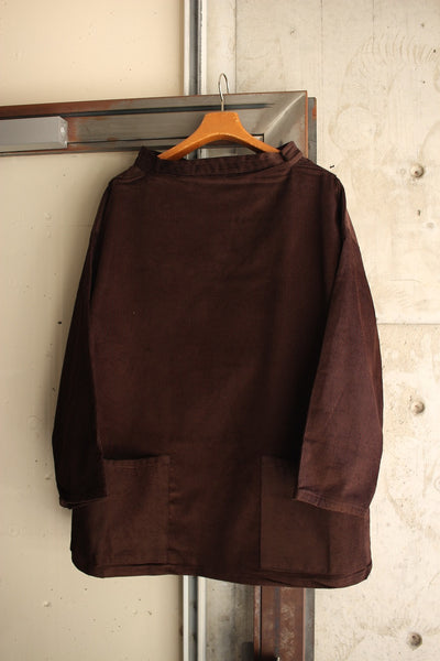 NEWLYN SMOCKS / CORDUROY SMOCK (BROWN)