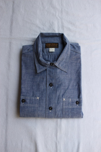 "FREEWHEELERS / ""Neal"" (#2013002,VINTAGE INDIGO CHAMBRAY,NO-WASH)"