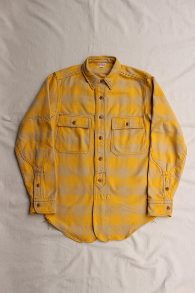 "FREEWHEELERS / ""OFFY"" (#2033006,CUSTARD YELLOW × SAND BEIGE)"