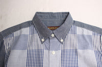 YEALOW / PANEL B.D. SHIRT (35250,MULTI)