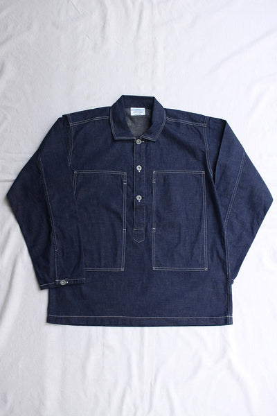 WORKERS / Pullover Shirt, Ref US ARMY (8oz DENIM)