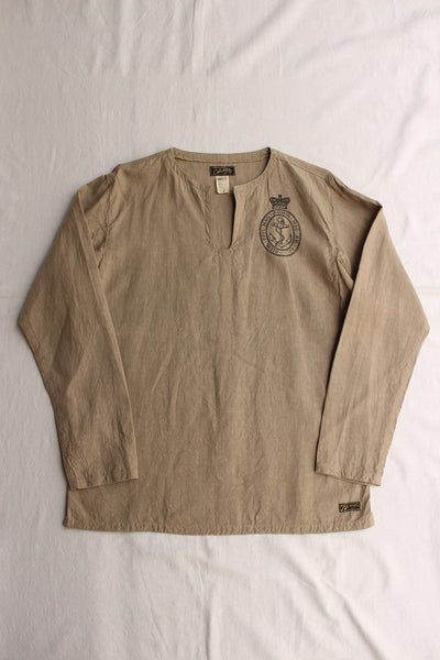 COLIMBO / SCAPA FLOW SLEEPING SHIRT (ZV-0305,CORK BEIGE)