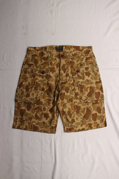 YEALOW / SIDE POCKET SHORTS (32237,CAMO)