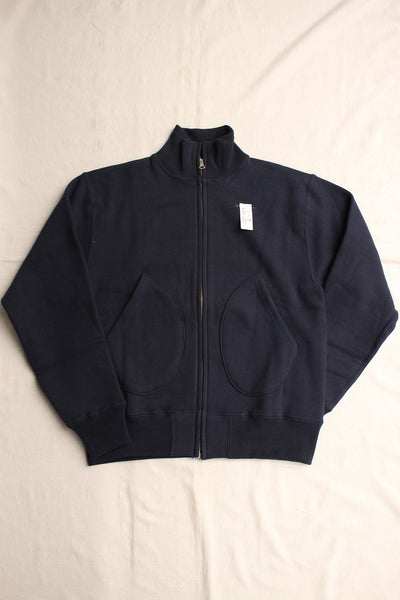 Cushman / SWEAT DECK JACKET (26097,NAVY)