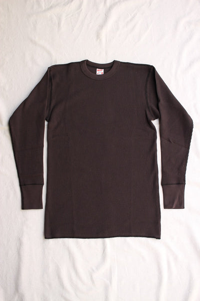 FREEWHEELERS / THERMAL LONG SLEEVE (#1415004,BLACK)