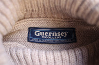 GUERNSEY WOOLLENS / TRADITIONAL GUERNSEY POLO (OATMEAL)