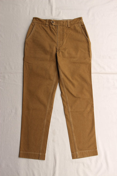 COLIMBO / ULSTER TROUSERS (ZR-0200,CAMEL)