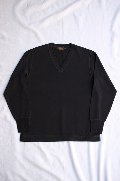 FREEWHEELERS / V NECK SWEATER (#1546117,JET BLACK)