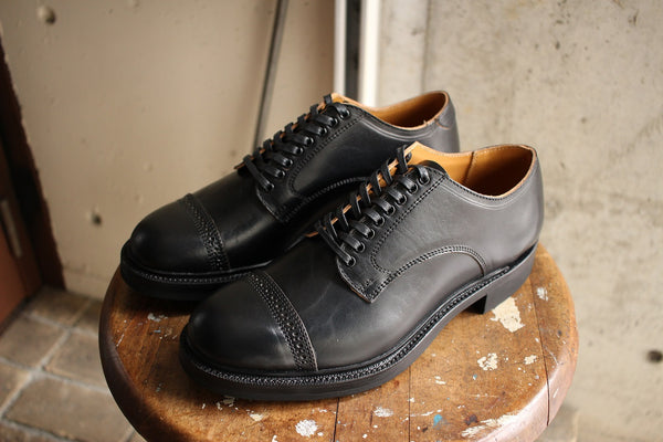 Makers / WORK OUT BLUCHER (CDVN-05RG,HORSEBUTT BLACK)