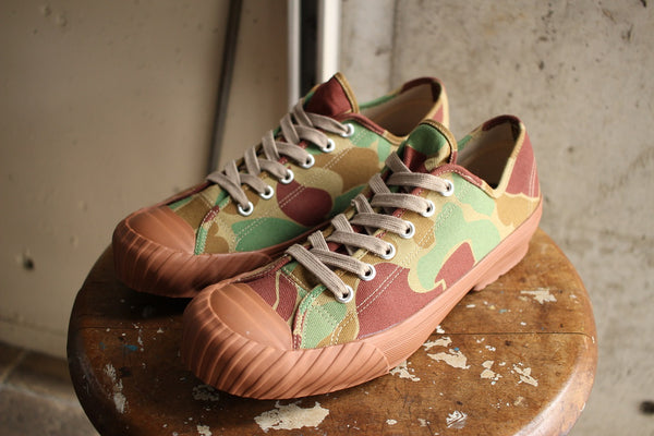 Cushman / WW2 LOW CUT SNEAKER (29072,CAMO) / 2017 model