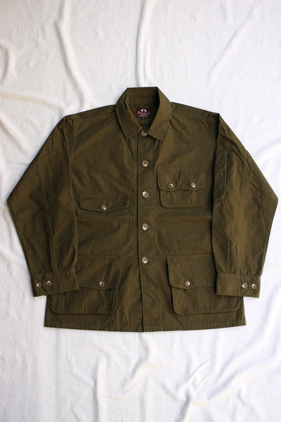 WORKERS / W&G Jacket (40/2 High Density Poplin, Olive)