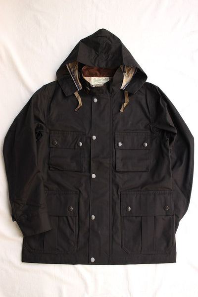 WORKERS / Weather Comfort Parka (Heavy Ventile Twill,Black)