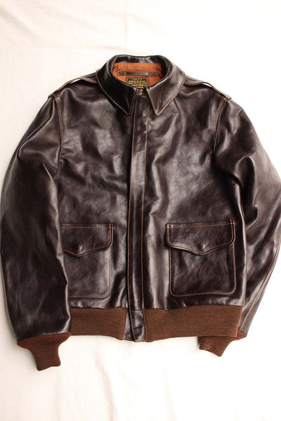 Rainbow Country / JACKET FLYING SUMMER TYPE A-2 (RCL-10030,DARK SEAL BROWN) / 2019 model