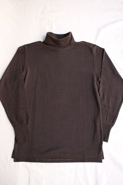 FREEWHEELERS / TURTLENECK LONG SLEEVE SHIRT (#1935002,JET BLACK)