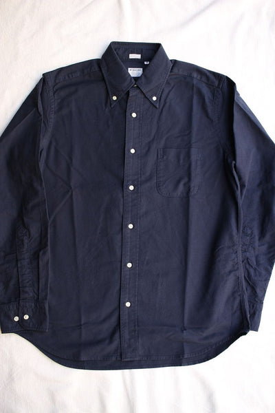 WORKERS / Modified BD (Navy Supima Oxford)
