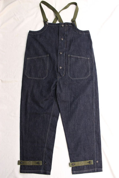 COLIMBO / OLD MIDSHIPMEN'S BIB OVERALL (ZU-0202,DENIM)