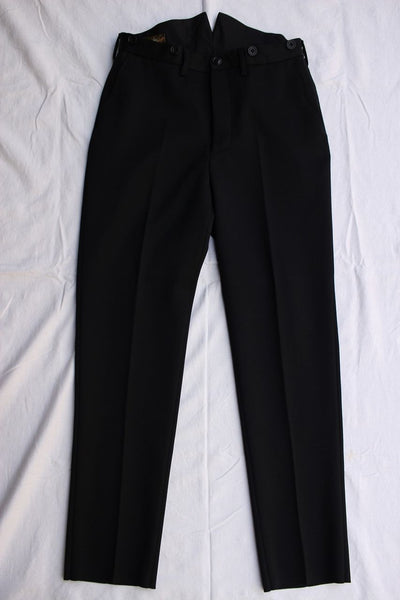 "FREEWHEELERS / ""Parker"" TROUSERS (#1822001,DEEP BLACK)"