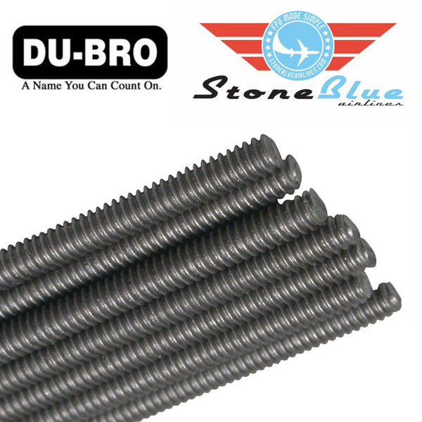 Du-Bro 4-40 Fully Threaded Rod 12""