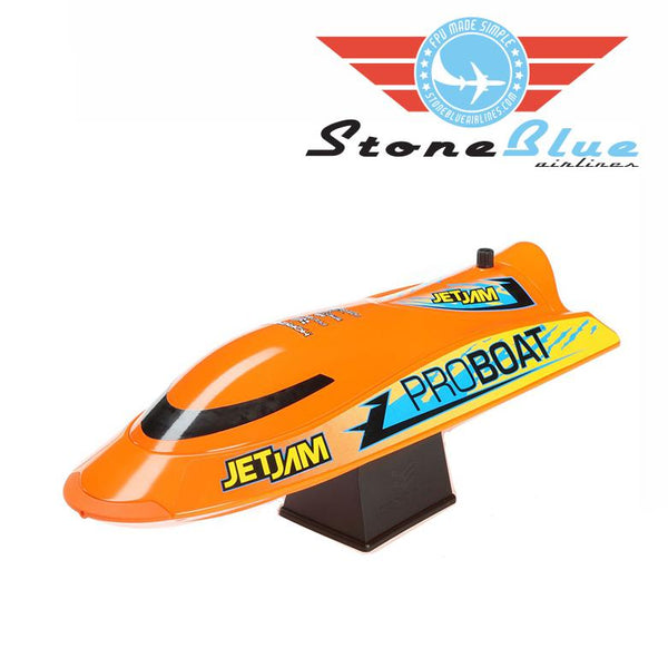 "ProBoat Jet Jam 12"" Pool Racer, Orange: RTR"