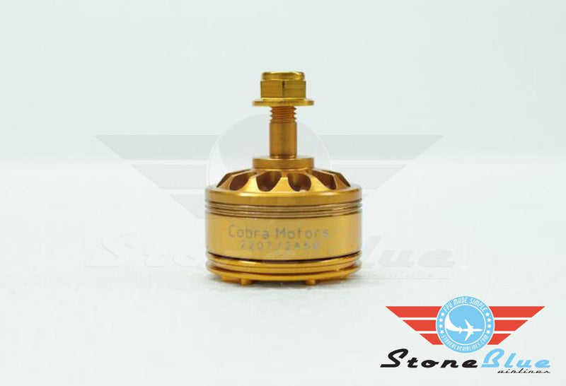 "Cobra Motor 2207 2450KV Champion Series ""Golden"""