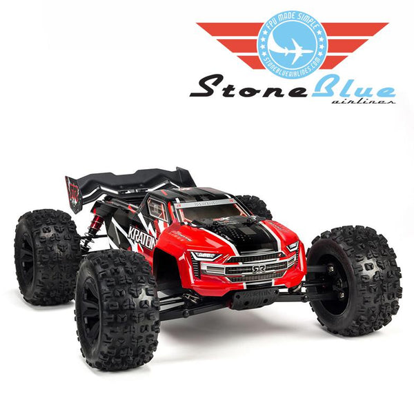 Arrma 1/8 KRATON 6S BLX 4WD Brushless Speed Monster Truck Red *In Stock*