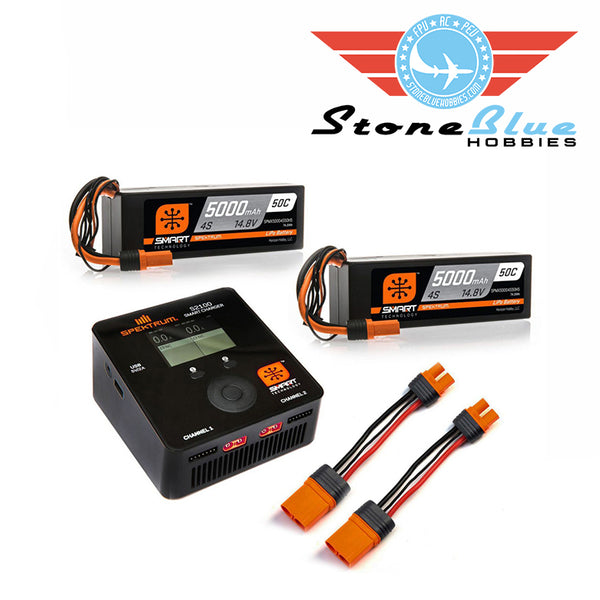 Spektrum Smart Powerstage Bundle: 8S (2x 5000mah 4s)