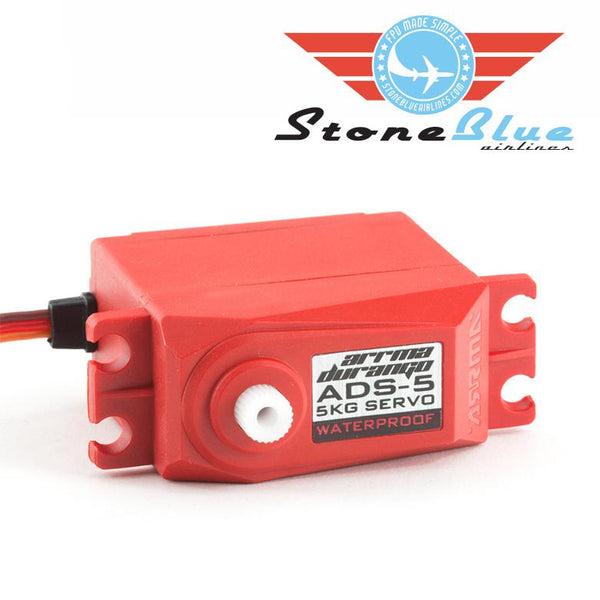 ARRMA ADS-5 V2 4.5kg Waterproof Servo Red #390133