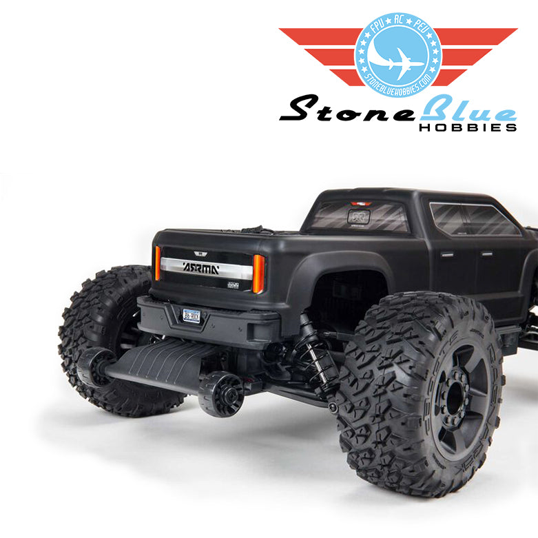 Arrma 1/10 BIG ROCK 4X4 V3 3S BLX Brushless Monster Truck RTR, Black