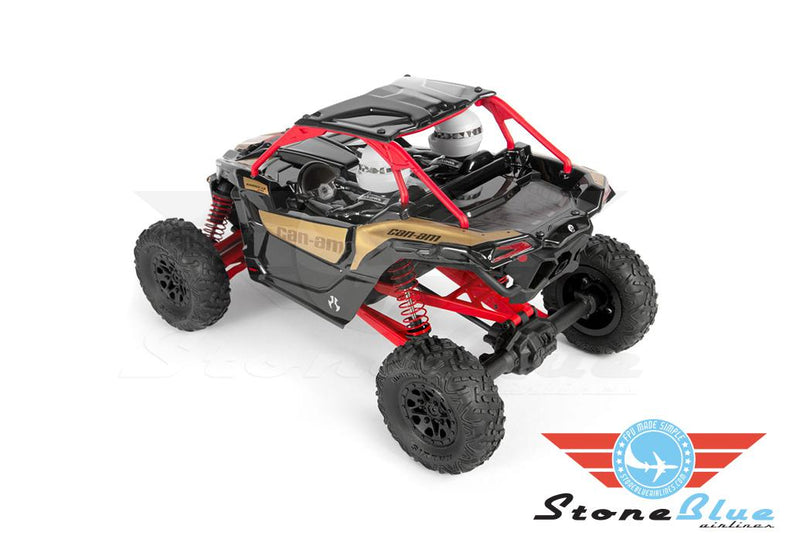 Axial 1/18 Yeti Jr. Can-Am Maverick 4WD Brushed RTR *Pre-Order*